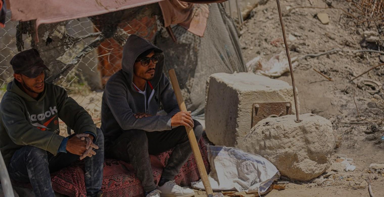 غزة: تفتيت ركام العدوان
