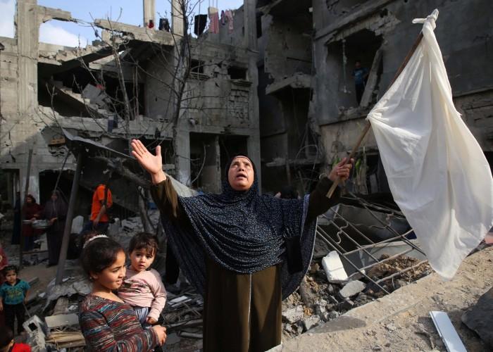 حصر الأضرار متواصل: غزة على طريق «قيـامة» جديدة